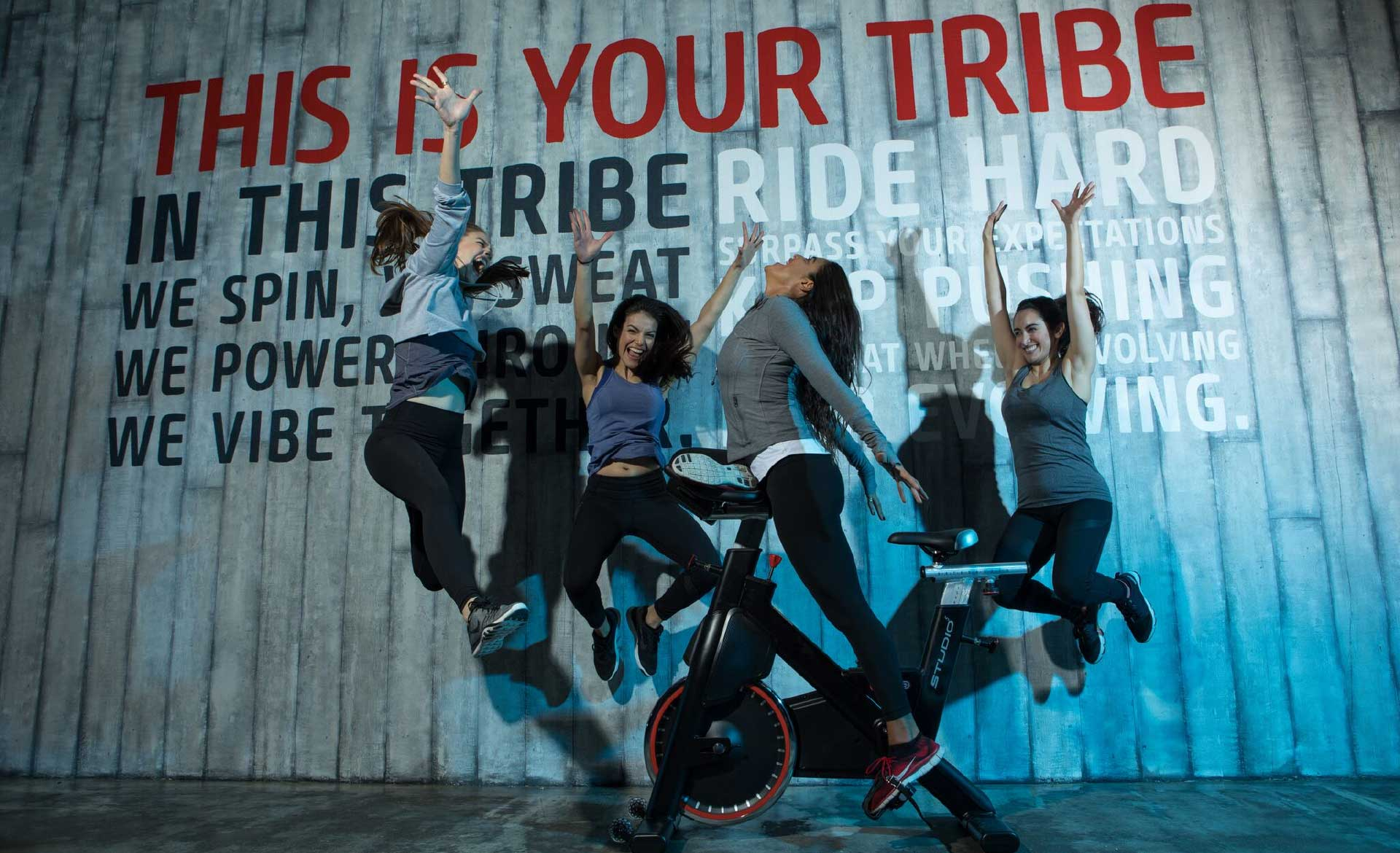 Qatar's First Dedicated Spin Studio - Ride Tribe